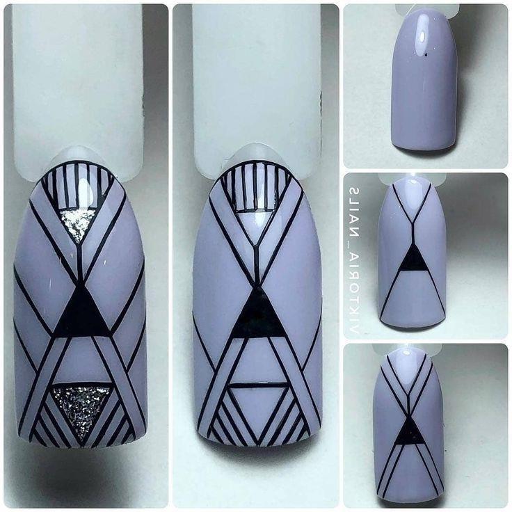 Мк Дизайн Ногтей Геометрия