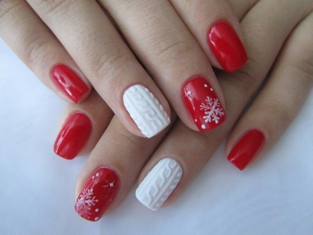 Зимний Дизайн Ногтей Шеллак Фото