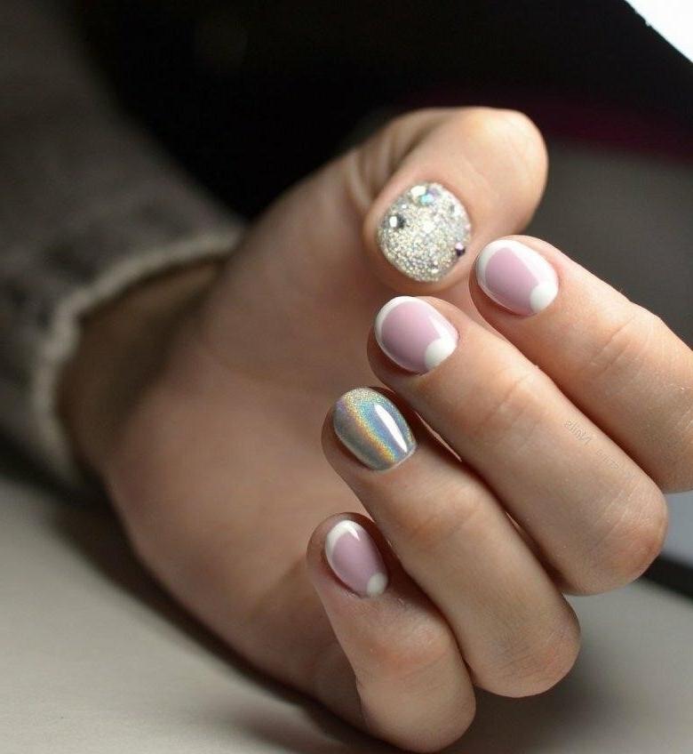 Маникюр На Самые Короткие Ногти Фото
