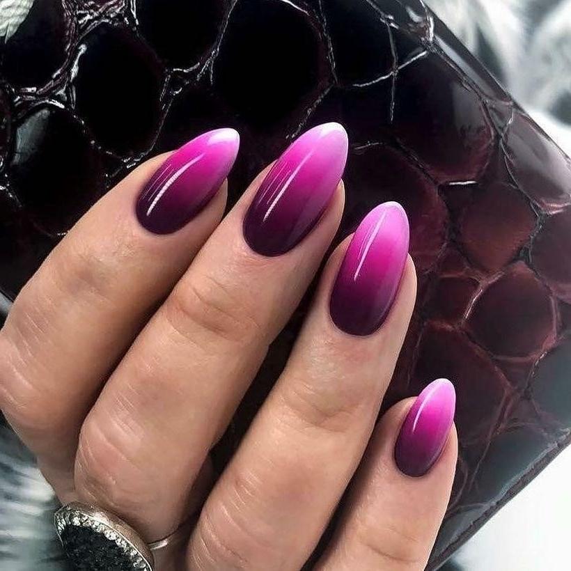 Красивые Ногти Дизайн 2020 Омбре
